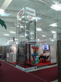 Sideview of our stand