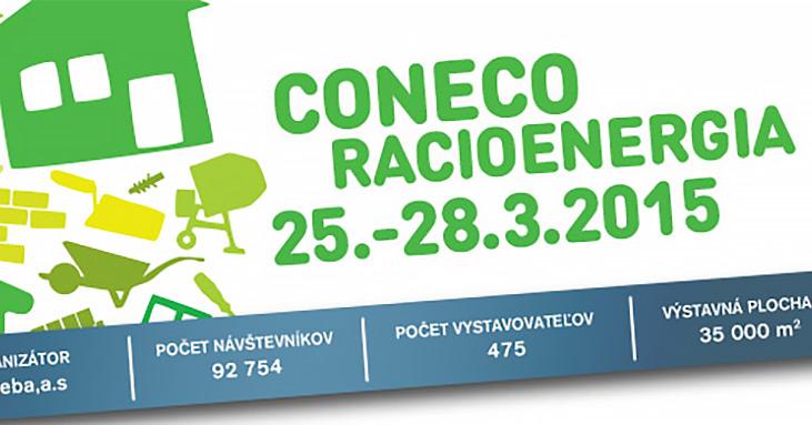 Pojeďte s námi na výstavu CONECO Racioenergia 2015