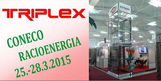 Výstava CONECO Racioenergia 2015 probíhá v plném proudu